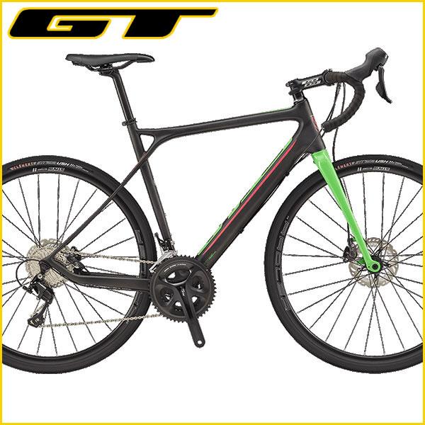 【前後ライト&ケーブルロックプレゼント♪】GT(ジーティー) 2017年モデル グレード カーボン 105 / GRADE CARBON 105【ロードバイク/ROAD】
