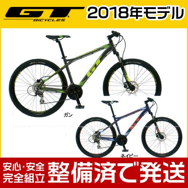 GT(ジーティー) 2018年モデル AGGRESSOR SPORT/アグレッサー スポーツ【27.5インチ】【MTB/マウンテンバイク】