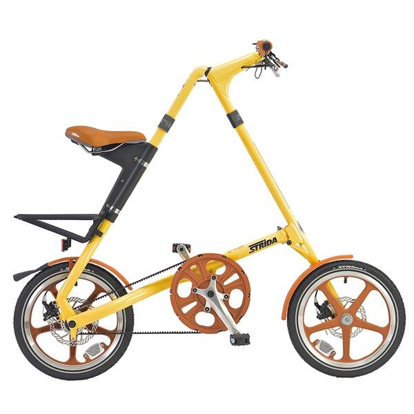 ストライダ LT 16インチ 【エントリーでポイント10倍2月9日20時開始】STRiDA LT クリーム 2019年モデル 折りたたみ自転車【bike-king】