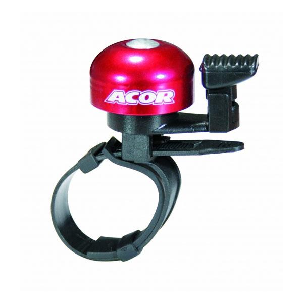 最安値挑戦 ACOR エイカー ABE-2807 今ダケ送料無料 カラーミニベル 22-31.8mm レッド