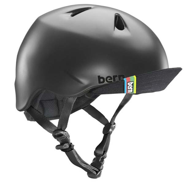 bern NINO モデル着用 注目アイテム バーン ニーノ 期間限定特別価格 マットブラック 子供用ヘルメット