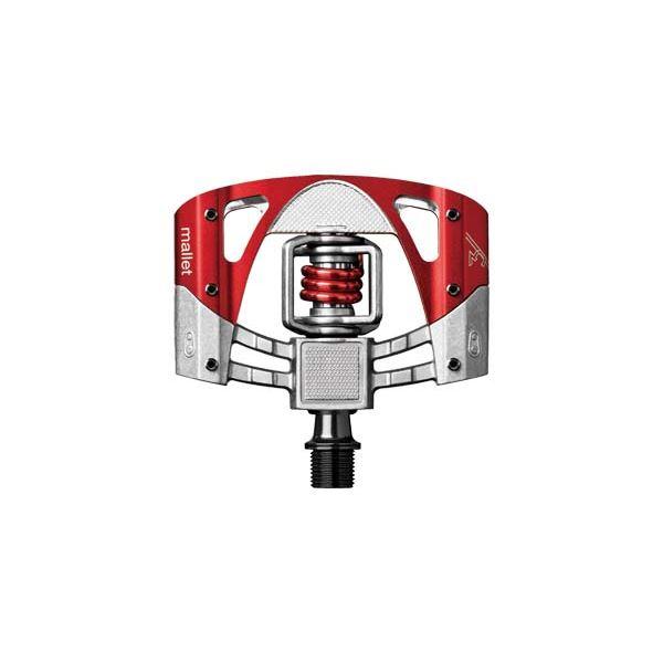 CRANKBROTHERS クランクブラザーズ マレット3 V2 ロウ/レッド レッドスプリング