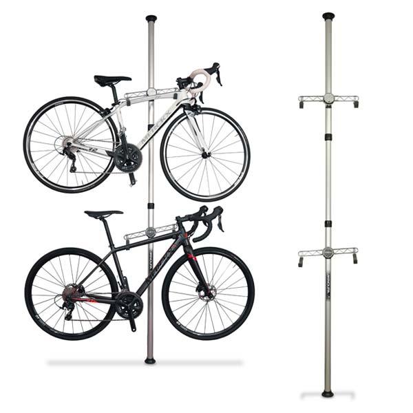 MINOURA 天井突っ張りポール式展示スタンド 販売期間 新発売 限定のお得なタイムセール ミノウラ バイクタワー20D 突っ張り式 収納スタンド bike-king