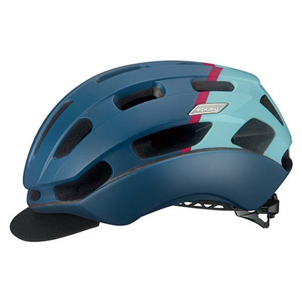 OGK KABUTO オージーケーカブト BC-GLOSBE-2 BC-グロッスベ-2 ヘルメット マットネイビーピンク