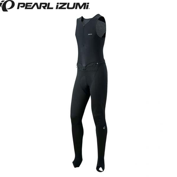 PEARL IZUMI パールイズミ T6700-3DNP ウィンドブレーク クイック ビブ サーモ タイツ 2018秋冬