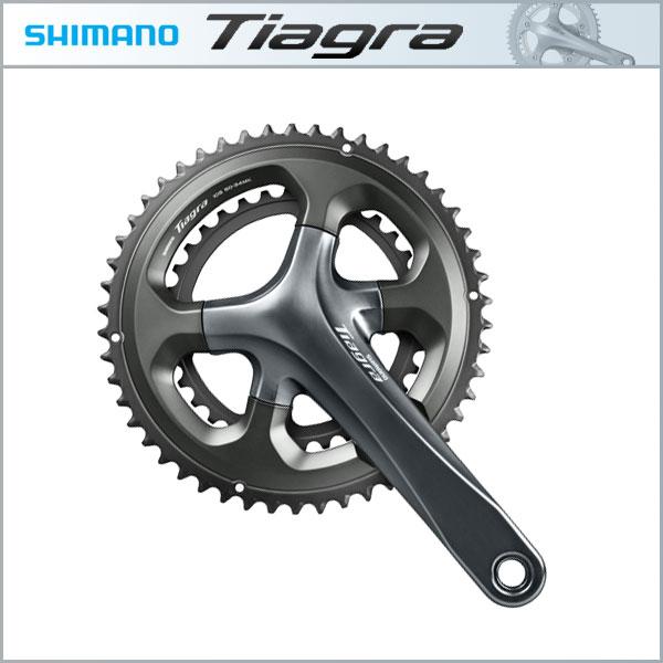 SHIMANO TIAGRA (ティアグラ) 2ピースクランクセット FC-4700 50-34T、52-36T 10S【シマノ】【ロード用コンポーネント】【自転車用】