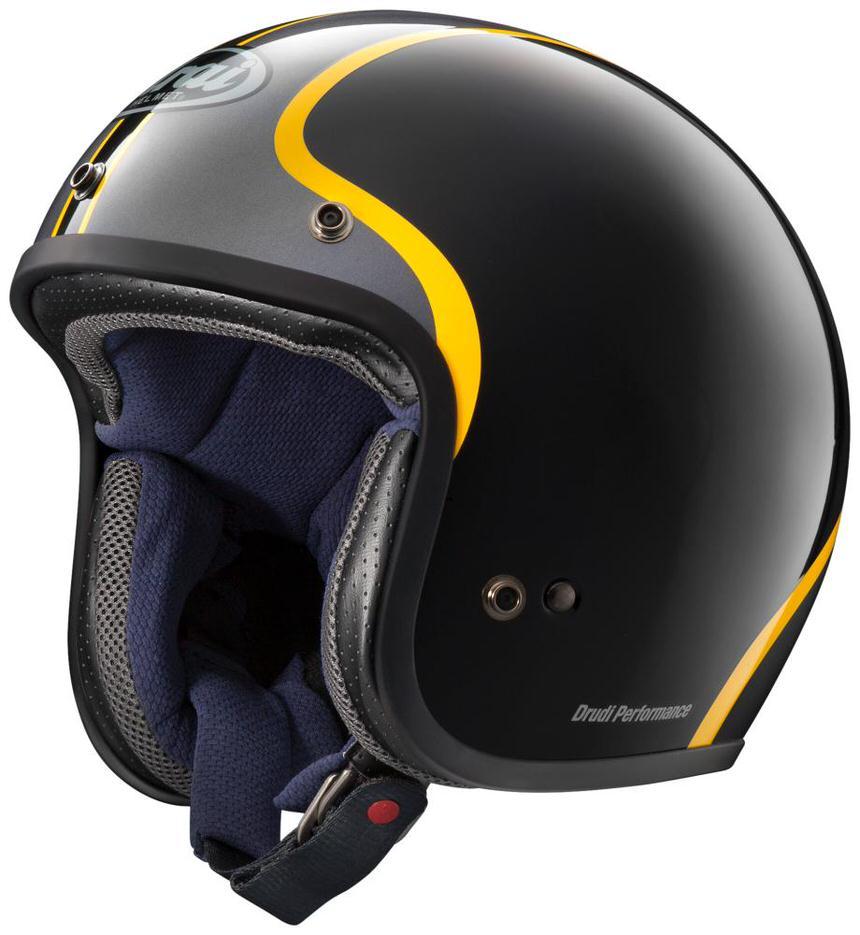 Classic MOD(クラシック・モッド) ボールドイエロー 55~56cm ジェットヘルメット ARAI(アライ)