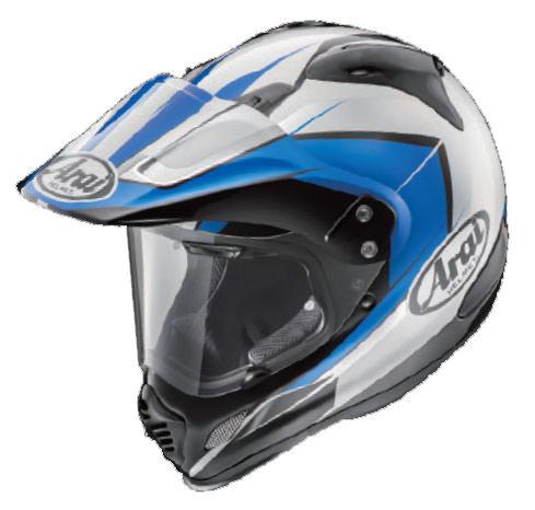 TOUR-CROSS 3(ツアークロス3)フレア・ブルー 55-56cm オフロードヘルメット ARAI(アライ)