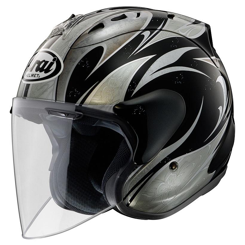 SZ-Ram4 カレン ブラック 55~56cm ジェットヘルメット Arai(アライ)