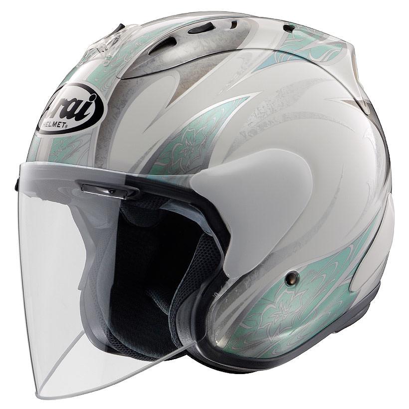 SZ-Ram4 カレン ブルー 55~56cm ジェットヘルメット Arai(アライ)