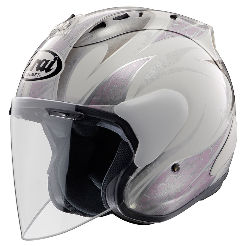 SZ-Ram4 カレン ピンク 55~56cm ジェットヘルメット Arai(アライ)