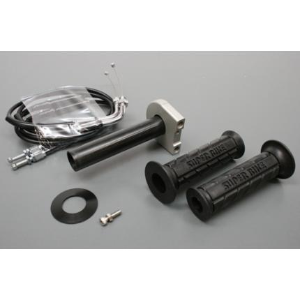 スロットルキットType3 インナー巻取径Φ32 ホルダーカラー:ガンメタ ワイヤー:メッキ金具 ACTIVE(アクティブ)   GSX-R1000(02~06年)