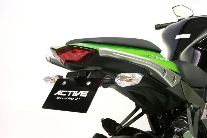 フェンダーレスキット ブラック LED ナンバー灯付 ACTIVE(アクティブ) Z1000(10~13年)