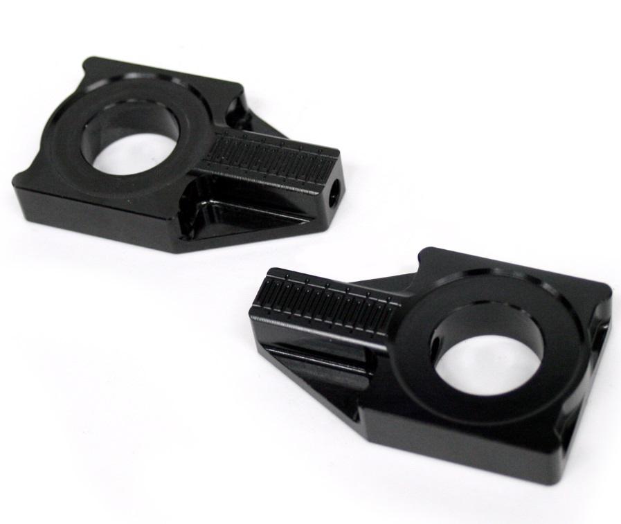 チェーンアジャスター ブラック アクティブ製プレスフォーミングスイングアーム用 ACTIVE(アクティブ) CB1300SF・SB(03~15年)