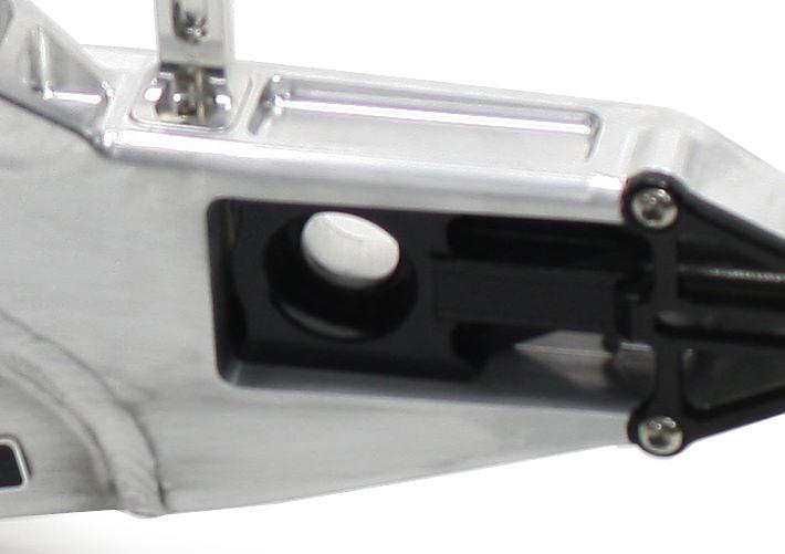 チェーンアジャスター チタンカラー アクティブ製スイングアーム用 ACTIVE(アクティブ) ZRX1200 DAEG(ダエグ)09~16年