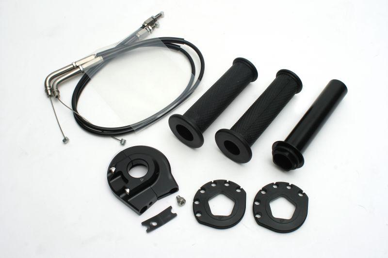 ハイスロットルキット (EVO2) ブラック 巻取φ50/52 ACTIVE(アクティブ) YZF-R1(ABS)15年
