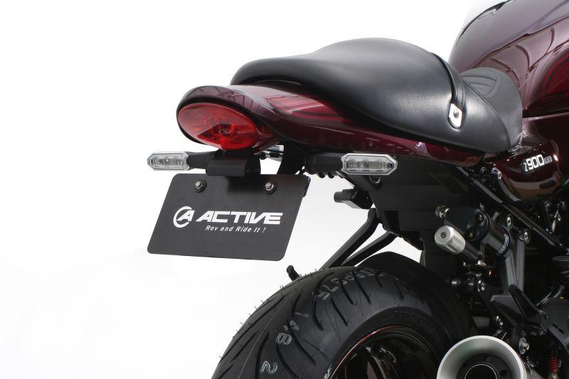 フェンダーレスキット ブラック LEDナンバー灯付 ACTIVE(アクティブ) Z900RS(18~19年)