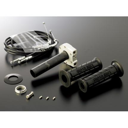 スロットルキットType2 インナー巻取径Φ28 ホルダーカラー:ガンメタ ワイヤー:ステンレス金具 ACTIVE(アクティブ) V-MAX1200