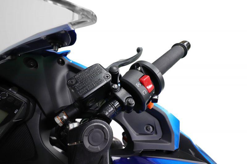 スロットルキット EVO2 ブラック 巻取Φ52/54 レース推奨サイズ ACTIVE(アクティブ) GSX-R125 ABS(18年)