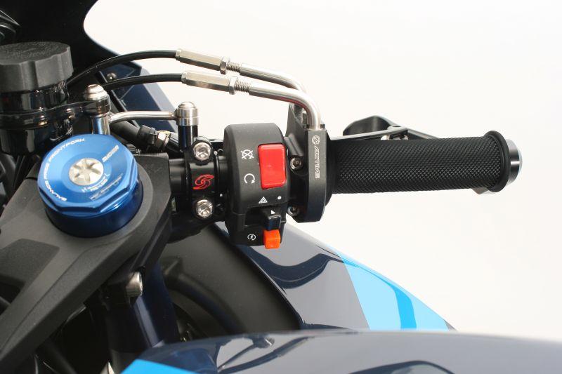 スロットルキット EVO2 シルバー 巻取Φ38/40 ACTIVE(アクティブ) GSX-R1000/R ABS(17年)