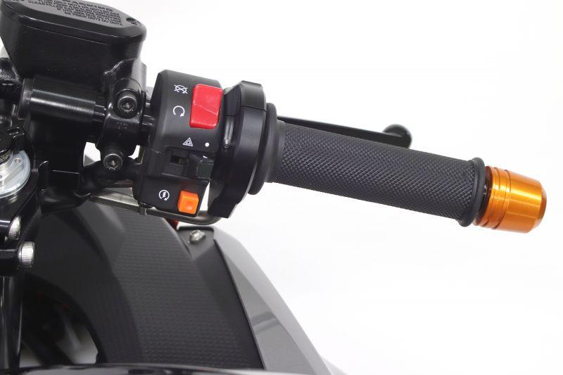 スロットルキット EVO2 シルバー 巻取Φ40/42 ACTIVE(アクティブ) Ninja400(ニンジャ400)18年