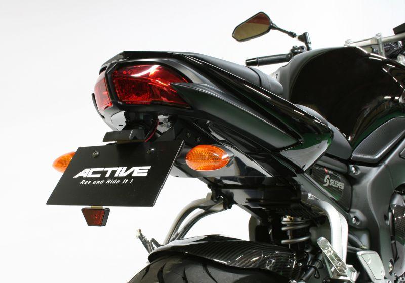 FZ1・FZ1 FAZER フェンダーレスキット ブラック LEDナンバー灯付 ACTIVE(アクティブ)