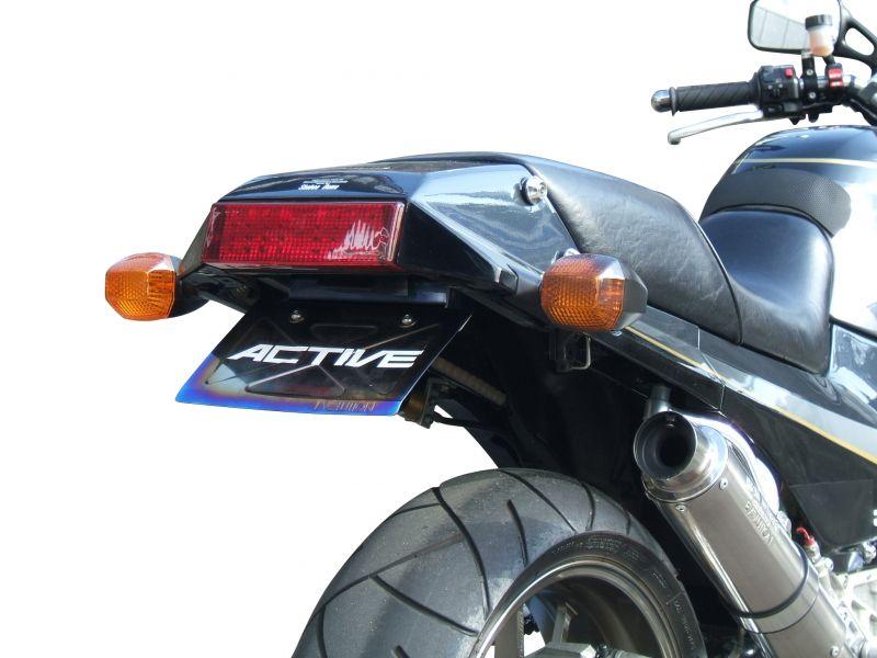 フェンダーレスキット ブラック LEDナンバー灯付 ACTIVE(アクティブ) GPZ900R
