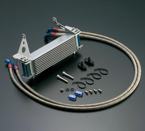オイルクーラーキット(サイド廻し)ストレート #6 9-10R (サーモ対応キット) ACTIVE(アクティブ) CBR400F