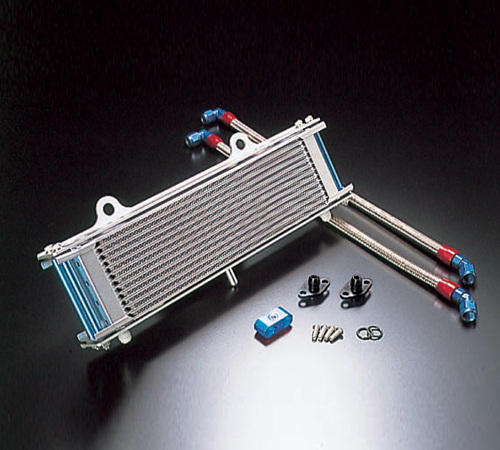オイルクーラーキット ストレート #8 12-13R ACTIVE(アクティブ) XJR1200(94~97年)