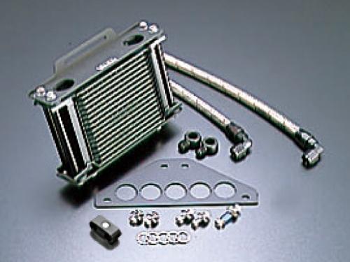 オイルクーラーキット ストレート #6 9-10R ブラック仕様 ACTIVE(アクティブ) GPZ750R