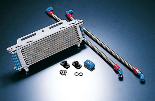 オイルクーラーキット ストレート #6 9-13R ACTIVE(アクティブ) Z400GP