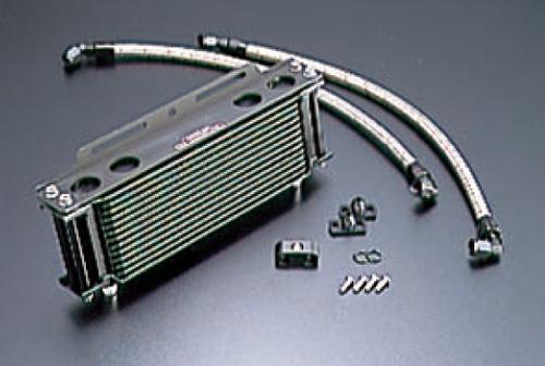 オイルクーラーキット ストレート #6 9-13R ブラック仕様 ACTIVE(アクティブ) GPZ400F(83~85年)