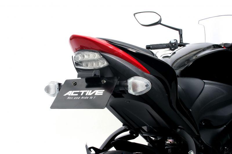 フェンダーレスキット ブラック(LEDナンバー灯付) ACTIVE(アクティブ) GSX-S1000/F ABS(15~19年)