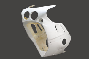 GSX-R750RK(89年) フルカウル FRP/白 A-TECH(エーテック)