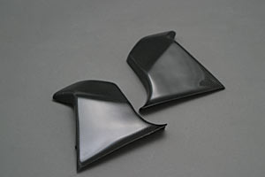 TL1000R(97~03年) フレームヒートガードA 左右セット 平織カーボン A-TECH(エーテック)