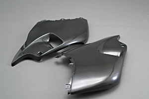 GSXR1300R 隼(99~07年) ハーフサイドカウルセット FRP/白 A-TECH(エーテック)