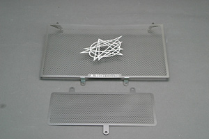 GSXR1300R 隼(99~07年) ラジエターコアガード ステンレス A-TECH(エーテック)