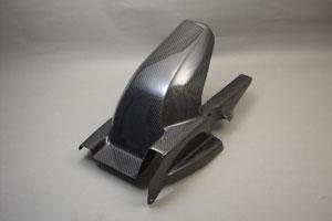 リアフェンダー FRP/黒 A-TECH(エーテック) GSX1400(01年~)