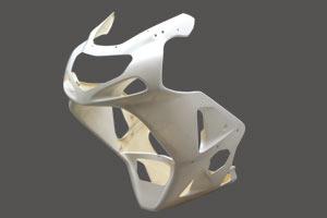ストリート用フルカウル SPL形状 FRP/白 A-TECH(エーテック) GSX-R1000(01~02年)