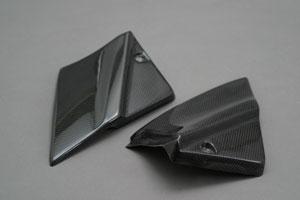 サイドカバー 平織りカーボン A-TECH(エーテック) YZF-R1(98~99年)