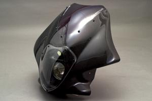 LunaSole(ルナソーレ) ビキニカウル スクリーン付き FRP/白 A-TECH(エーテック) XJR1200(94~97年)