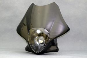 LunaSole(ルナソーレ) ビキニカウル スクリーンレス FRP/白 A-TECH(エーテック) XJR1200(94~97年)