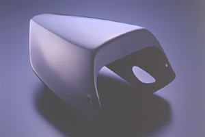 CBR1100XX タンデムシートカバー 平織りカーボン A-TECH(エーテック)