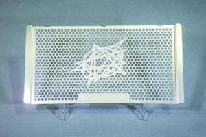 CBR250R(11~13年) ラジエーターコアガード ステンレス A-TECH(エーテック)