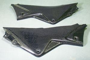 CBR250R(11~13年) サイドカバー 左右セット カーボンケプラ A-TECH(エーテック)