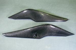 CBR250R(11~13年) シートカウル 左右セット 平織りカーボン A-TECH(エーテック)