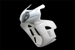 CBR1000RR(04~05年) LunaSole(ルナソーレ) フルカウル FRP/白 A-TECH(エーテック)