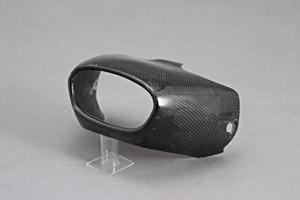 CBR1000RR(04~07年) マフラーエンドカバー 平織りカーボン A-TECH(エーテック)