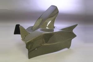 CBR1000RR(04~07年) リアフェンダーSPL2 平織りカーボン A-TECH(エーテック)