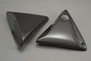 CB1000SF(92~97年) サイドカバー 平織りカーボン A-TECH(エーテック)